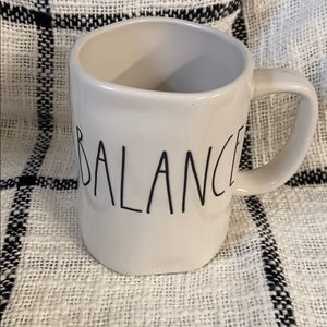 Balance Coffee Mug Rae Dunn Ceramic Cup New